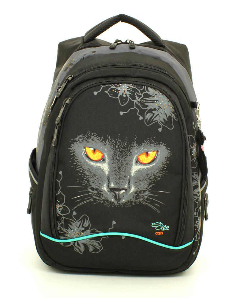 Рюкзаки школьные с кошкой zhihuishu рюкзак